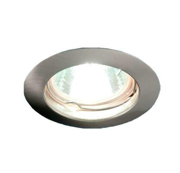 Светильник Gamma 51 0 06 литой неповорот. MR16 никель ИТАЛМАК IT8011