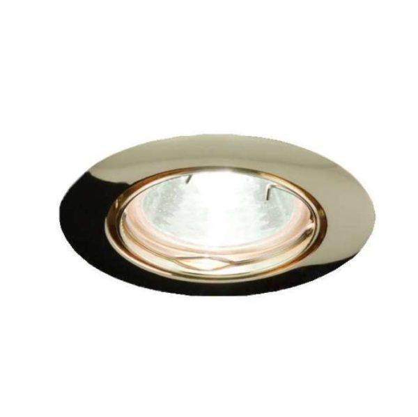 Светильник Montana 51 1 04 под галоген. лампу накаливания штампов. поворот. MR16 зол. ИТАЛМАК IT8105
