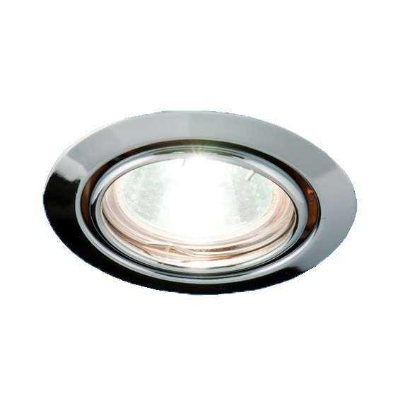 Светильник Montana 51 1 05 под галоген. лампу накаливания штампов. поворот. MR16 хром ИТАЛМАК IT8103