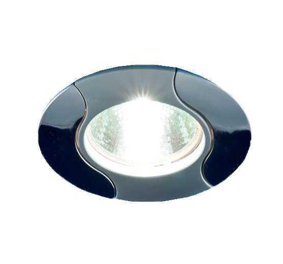 Светильник Nautilus 51 0 21 литой неповорот. комбинир. MR16 мат. хром/хром/мат. хром ИТАЛМАК IT8029