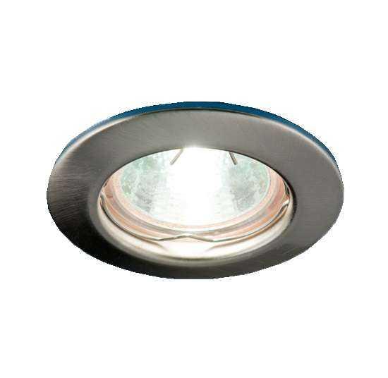 Светильник Sfera 51 0 06 штампов. неповорот. MR16 никель ИТАЛМАК IT8093