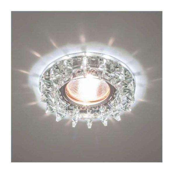 Светильник Bohemia LED 51 5 70 декор. из огран. стекла со светодиод. подсветкой MR16 ИТАЛМАК IT8502