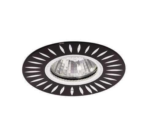 Светильник Stella 51 3 02 литой MR16 черн. ИТАЛМАК IT8490