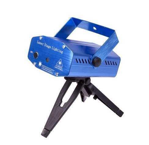 Проектор лазерный с эффектом цветомузыки IP20 220В RGB NEON-NIGHT 601-255