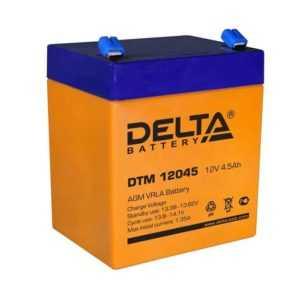 Аккумулятор 12В 4.5А.ч. Delta DTМ 12045
