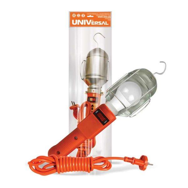 Светильник переносной ПВС 2х0.75 с выкл. 15м 220В UNIVersal 966U-0115