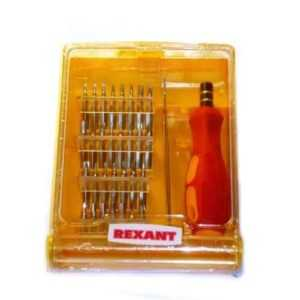 Набор отверток для точечных работ 32 предмета REXANT 12-4701