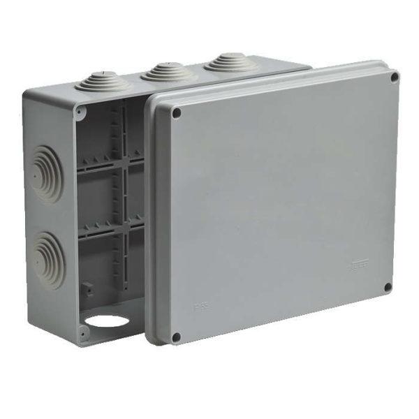 Коробка распределительная ОП 240х195х90мм IP55 Рувинил 67065