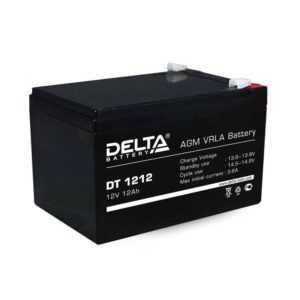 Аккумулятор 12В 12А.ч. Delta DT 1212