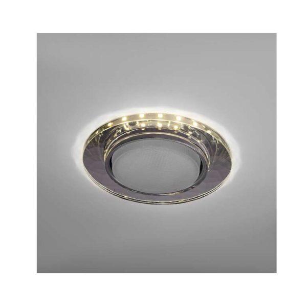 Светильник Bohemia LED 53 4 70 декор. огран. стекло со светодиод. подсвет. GX53 прозр. ИТАЛМАК IT867