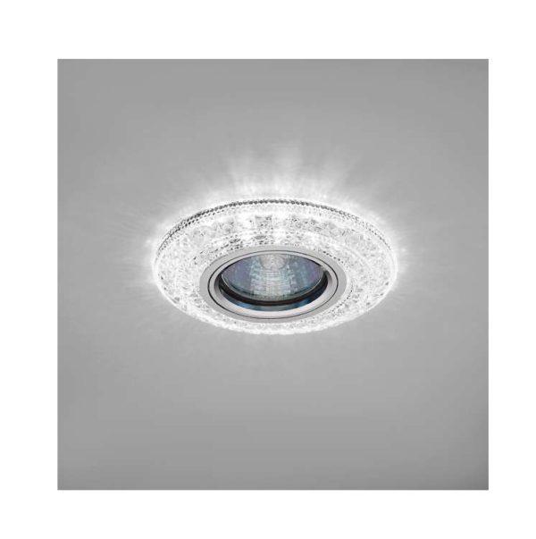 Светильник Emilia LED 51 4 70 декор. огран. полимер. со светодиод. подсвет. MR 16 прозр. ИТАЛМАК IT8