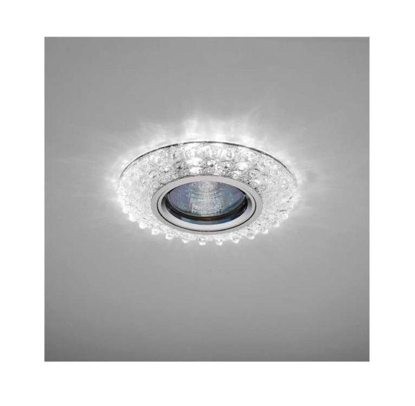 Светильник Emilia LED 51 5 70 декор. огран. полимер. со светодиод. подсвет. MR 16 прозр. ИТАЛМАК IT8