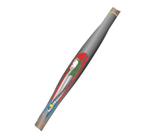 Муфта кабельная соединительная 1кВ 1ПСТ(б)-(тк)-4х(150-240) с болтовыми соединителями Нева-Транс Ком