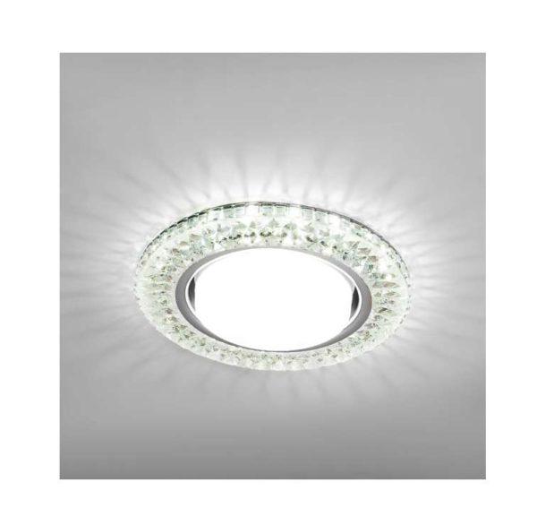 Светильник Emilia LED 53 1 70 полимер со светодиод. подсветкой GX53 прозр. ИТАЛМАК IT8689