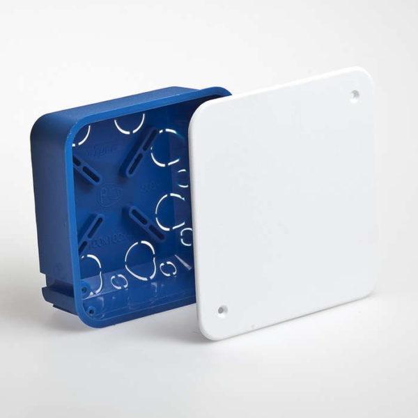 Коробка распределительная СП 100х100х45мм IP30 Рувинил 10160