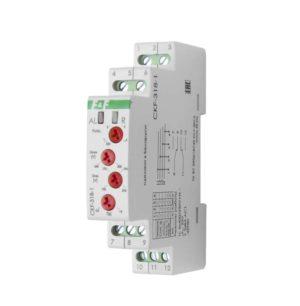 Реле контроля наличия и чередования фаз CKF-318-1 (контроль чередования; слипания фаз; регулировка в