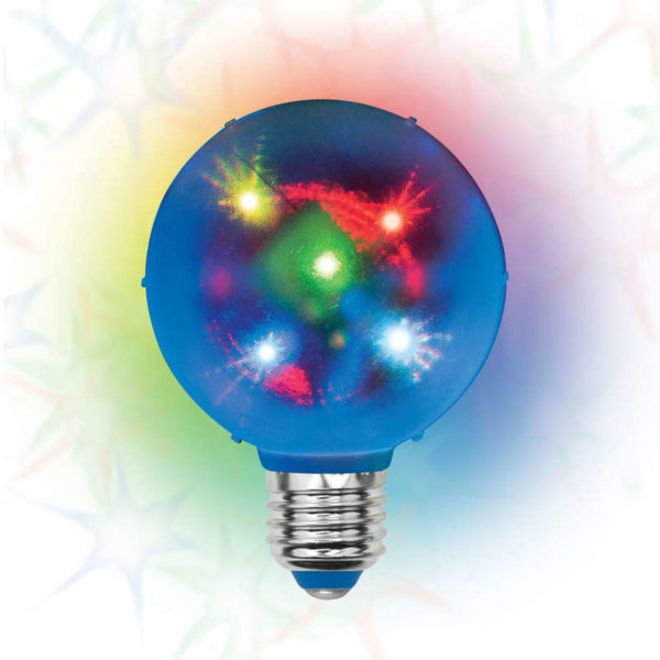 Светильник ULI-Q308 1.5Вт/RGB/E27 ДИСКО ШАР 3D Volpe UL-00002761