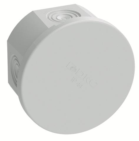Коробка распределительная ОП 80х40мм IP44 4 каб. ввод DKC 53600