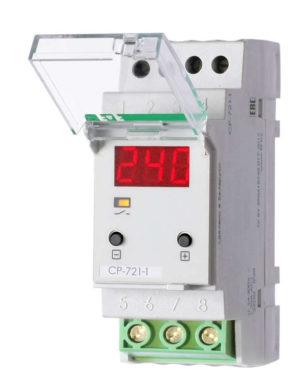 Реле напряжения CP-721-1 (однофазное; цифровая индикация; напряжение питания 50-450В контакт 1NO 63А