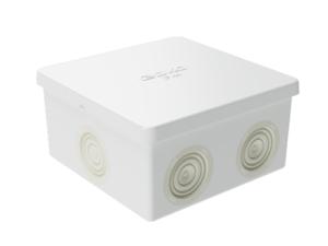 Коробка распределительная ОП 80х80х40мм IP44 6 каб. ввод DKC 53700