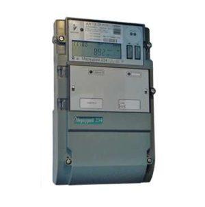 """Счетчик """"Меркурий"""" 234 ARTM-03 PBR.G 3ф 5-10А 0.5S/1.0 класс точн.; многотариф. оптопорт GSM RS485 Ж"""