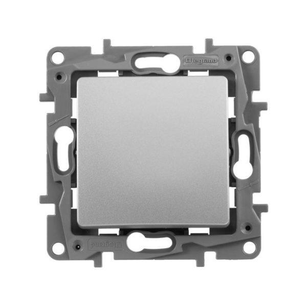 Механизм выключателя 1-кл. СП Etika 10АX безвинт. зажимы алюм. Leg 672401