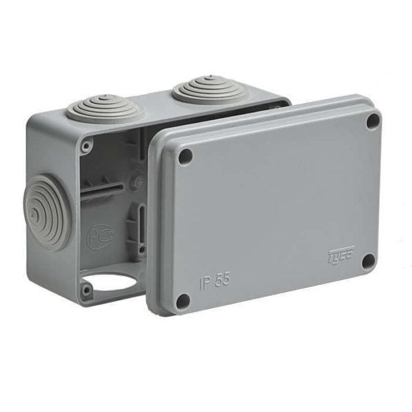 Коробка распределительная ОП 120х80х50мм IP55 Рувинил 67051