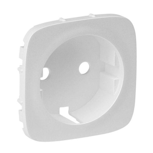 Панель лицевая Valena Allure для розетки 2К+З жемчуг Leg 755209