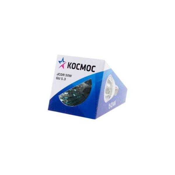 Лампа галогенная JCDR 50Вт GU5.3 220В Космос LKsmJCDR220V50W