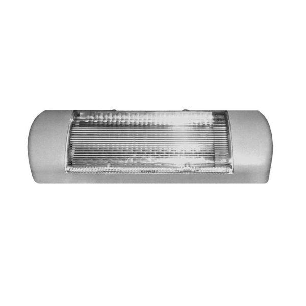 Светильник Омега-О 1х11Вт G23 IP23 с дросселем с лампой сер. Трансвит 155