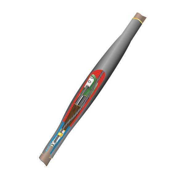 Муфта кабельная соединительная 1кВ СТп(тк) 4х(35-50мм) с болтовыми соединителями Нева-Транс Комплект