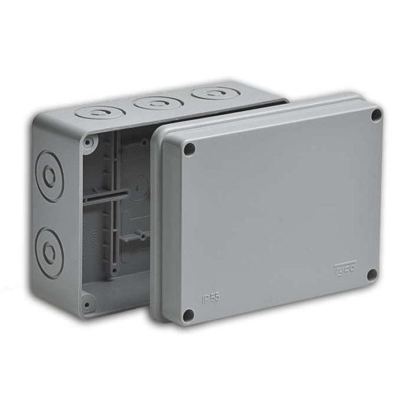 Коробка распределительная ОП 150х110х70мм IP55 без гермет. Рувинил 67054