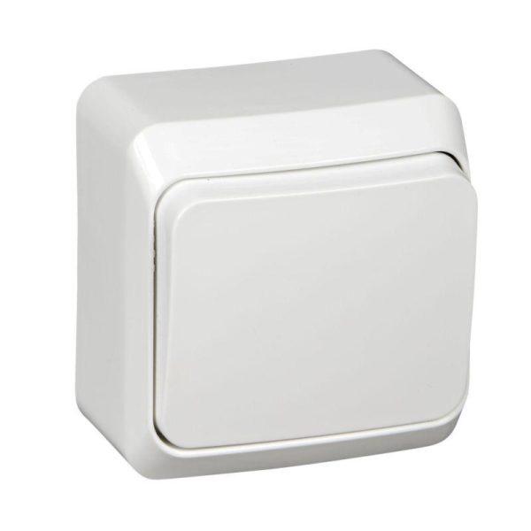 Выключатель 1-кл. ОП Этюд 10А IP20 бел. SchE BA10-001B