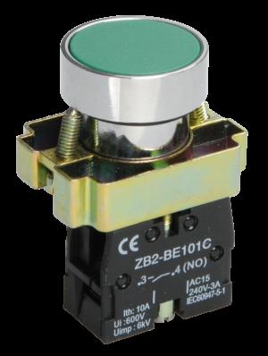 Кнопка LAY5-BA31 без подсветки зел. 1з ИЭК BBT60-BA-K06