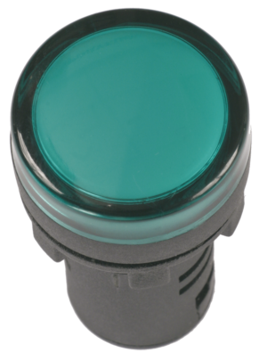 Арматура светосигнальная AD-22DS 12В AC/DC зел. ИЭК BLS10-ADDS-012-K06