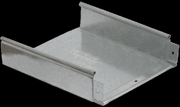 Лоток листовой неперфорированный 200х50 L3000 сталь 0.7мм ИЭК CLN10-050-200-3