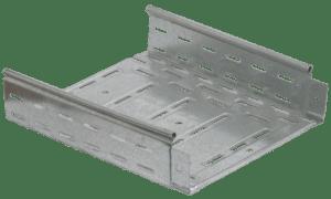 Лоток листовой перфорированный 300х50 L3000 сталь 0.8мм ИЭК CLP10-050-300-3