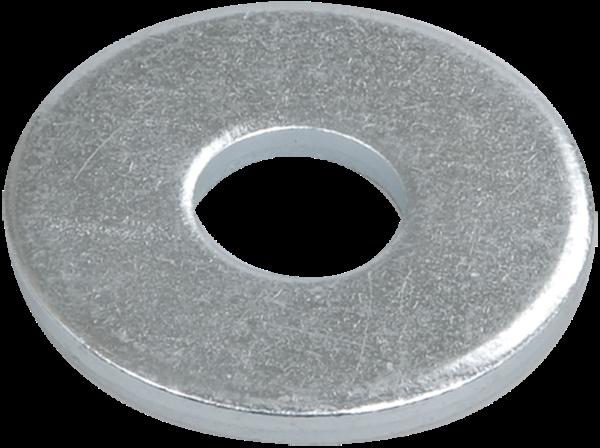 Шайба М8 плоская (уп.500шт) ИЭК CLP1M-SH-8