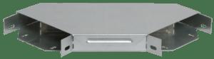 Угол для лотка горизонтальный 90град. 100х50 с кр. ИЭК CLP2P-050-100