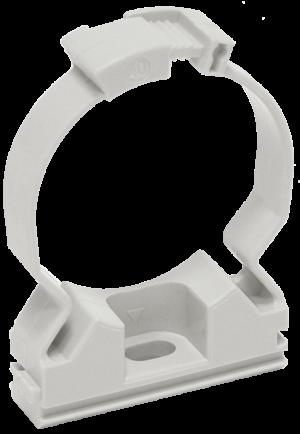 Держатель хомутный для труб CFC25 d25 сер. ИЭК CTA10MP-CFC25-K41-100