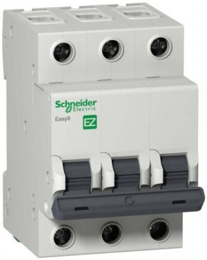 Выключатель автоматический модульный 3п C 32А 4.5кА EASY9 =S= SchE EZ9F34332