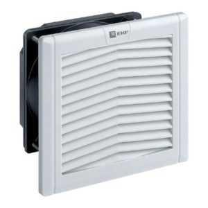 Вентилятор с фильтром 52 куб.м./ч 124x124мм IP54 PROxima EKF FAN52F