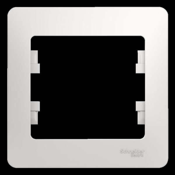 Рамка 1-м Glossa бел. SchE GSL000101