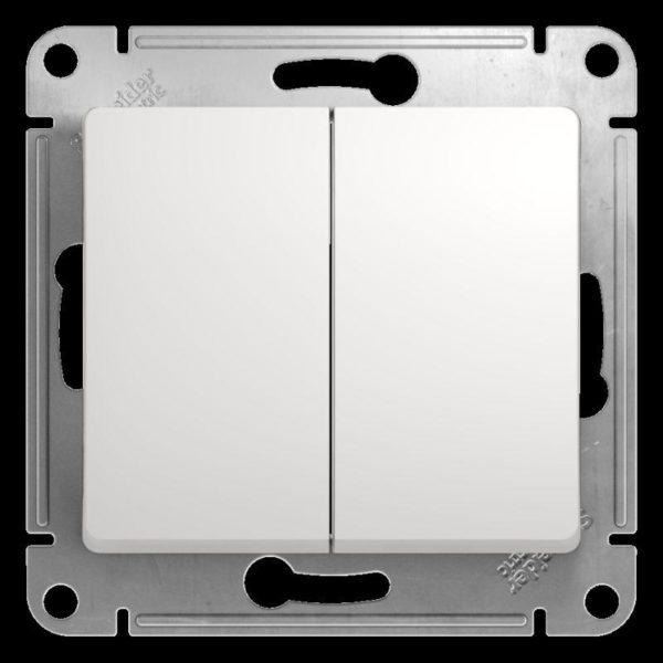 Механизм переключателя 2-кл. СП Glossa сх.6 10AX бел. SchE GSL000165