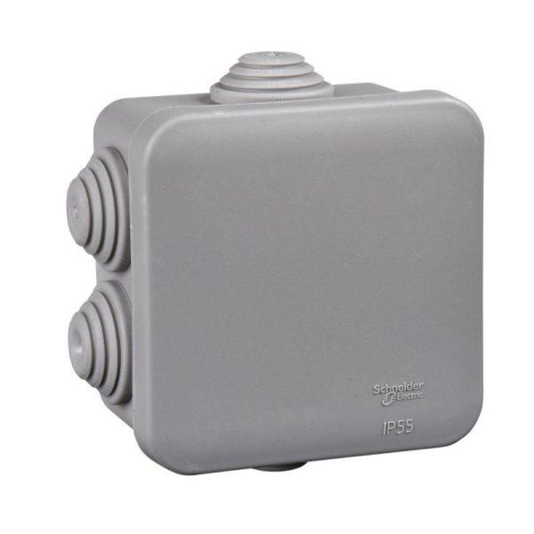 Коробка распределительная ОП 70х70х40мм IP55 SchE IMT35090