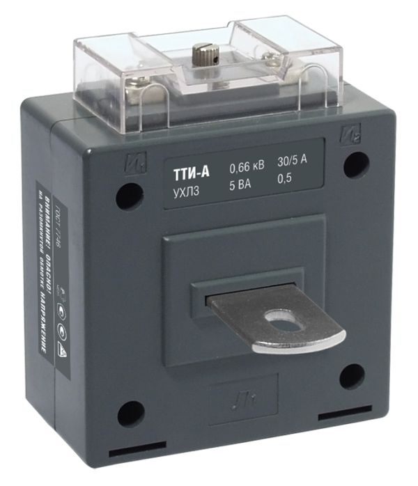 Трансформатор тока ТТИ-А 400/5А кл. точн. 0.5 5В.А ИЭК ITT10-2-05-0400