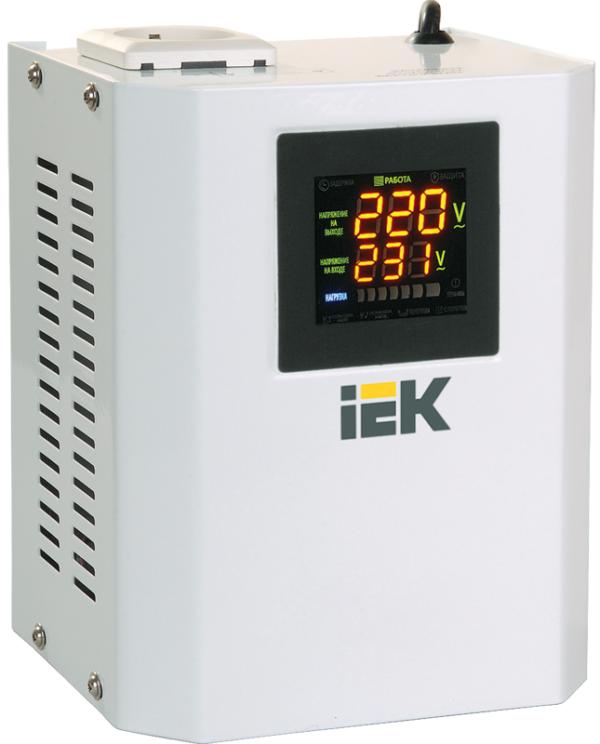 Стабилизатор напряжения Boiler 0.5кВА ИЭК IVS24-1-00500