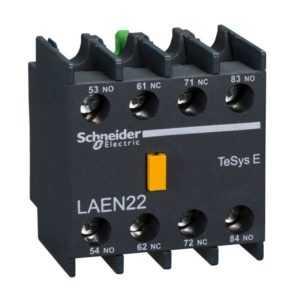 Блок доп. контактов 2НО+2НЗ для контакторов TeSys E SchE LAEN22