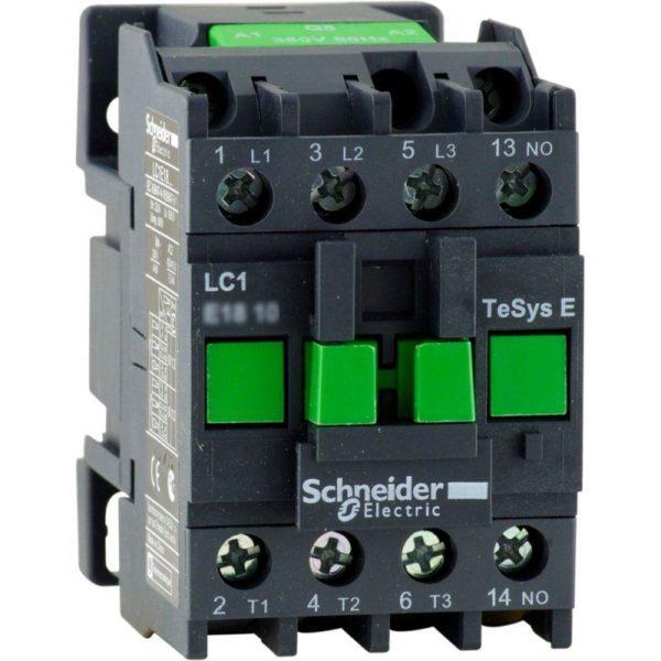 Контактор 3п 9А 1НО 220В AC TeSys E SchE LC1E0910M5