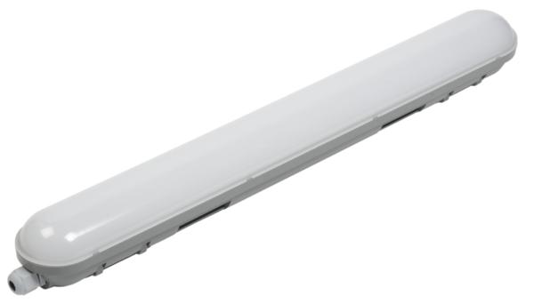 Светильник ДСП 1304 18Вт 4500К IP65 600мм сер. пластик ИЭК LDSP0-1304-18-4500-K01